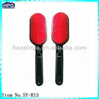 Red Rotating Lint Roller Brush