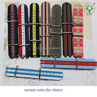 Factory Hot Sale Middle and High Quality Nylon Nato Watch Strap Wholesale