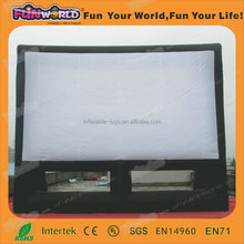 Best selling giant inflatable projection screen for sale