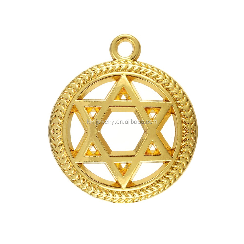 Wholesale jewish jewelry wholesale 18k gold antique silver for Star of david jewelry wholesale
