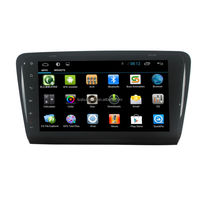 """Android 4.4 10.1"""" Full Touch Screen Car DVD Player for Skoda Octavia 2015 with Google Play Store, GPS, Bluetooth, mirror link"""