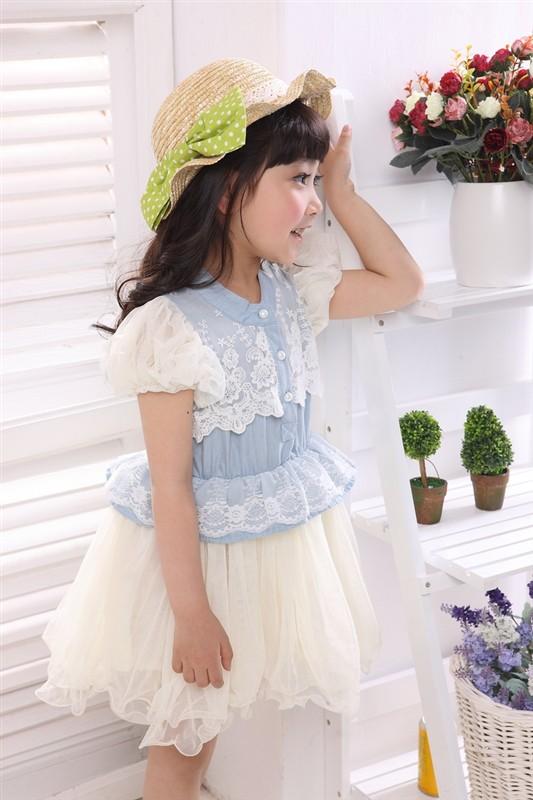 Платье для девочек Summer dress 2014 baby girls dress  baby dress ! BBS070 dress baby baby clothing baby girl dress