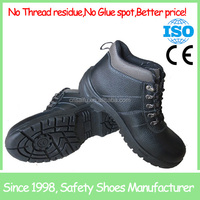 Hot selling Genuine Leather steel toe safety shoes SF1215
