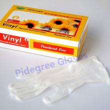 PVC disposable gloves food grade/china manufacturer
