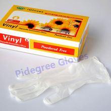 PVC disposable gloves food grade/china manufacturer