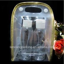 Fashionable Carrying Cosmetic PVC Zipper Pouch