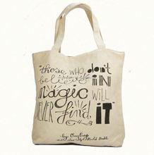 gold supplier 100% cotton custom print canvas tote bag, logo customise cotton tote bag, cotton summer bag