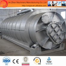 2014 new design used tire recycling machine pyrolysis to crude oil with CE & ISO