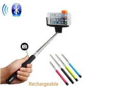Hot Items Bluetooth Push button Wireless 3 in 1 Cell Phone Selfie Stick