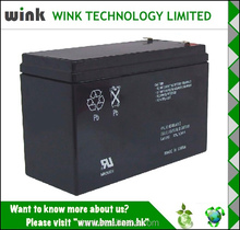 Made in china 12v 5.5ah Back up Battery Manufactory
