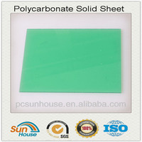 solid polycarbonate roof sheet