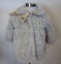 Hot Sell! Children faux fur PV Plush Coat Fake Fur Coat Designer Winter Coats