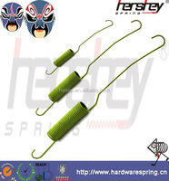 Extension springs for Shock absorption