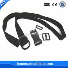 Custom nylon belts for plastic side release buckles