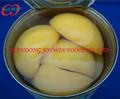 Conservas de melocotón amarillo mitades fruta 3100 ml 3 kg