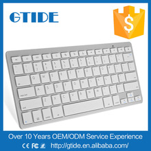 Gtide coloured computer wireless bluetooth small keyboard