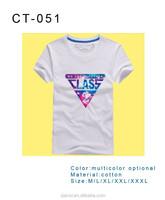 new style creative printed cheap led artful custom t-shirt for men