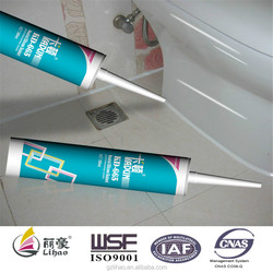 310ml cartridge ceramic white silicone sealant for bathroom sanitary wares