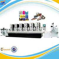 DX-J06-1 roll to roll high quality automatic flatbed adhesive paper sticker label printing die cutting machine made in china