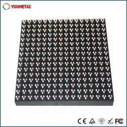 Promotion IP65 1R1G1B outdoor full color smd led module p10 high pixel 10000 dots good factory price