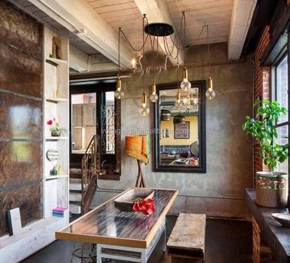Neue produkte dekorative vintage industrie führte pendelleuchte ...