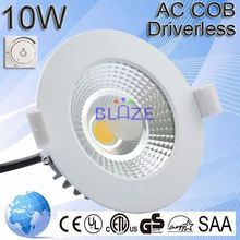 10w led downlight dali 220-240v dimmable ce saa approved led lighting