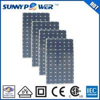 1000v flexible solar panel 290w wth VDE(IEC61215&IEC61730)