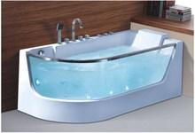 SMT093, 1650*800mm glass screen whirlpool bathtub ,massage bathtub