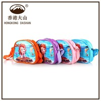 2015 new arrival mermaid cartoon pictures child bag best kids birthday gift for 8 years child