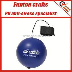magic cheap pu yoyo stress ball,tennis stress reliever yoyo,soft pu anti yoyo stress ball