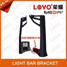Install LED work light for offroad light bar alu firm bracket