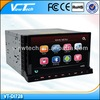 7 inch digital 2 din car dvd gps android with 3g/wifi/bt