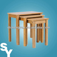 PU Finish Wooden Nest of Table