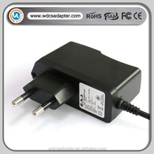 EU plug 5V 3A power adapter 15W charger factory from China