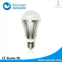 E24 110v 220v 140degree sensor angle radar controlled microwave motion light sensor led light bulb