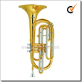 Bb clave Acero inoxidable Pistón Marching Trombone(MTB9600)