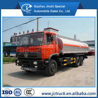 Alibaba China Dongfeng 6X4 22000L oil transport lorry for sale, refueling truck, mobile fuel tanker truck