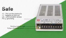 S-250W Newlist !!! 24V Regulated Switching Power Supply 10A 250W AC / DC PSU led christmas tree adapter