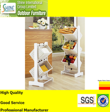 Rattan Furniture Food Kitchen Rack, Aluminum Wicker Rattan Basket For Home Furniture,Hotel Project