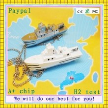 bulk cheap high quality custom logo boat usb flash drive