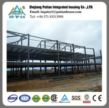 multi-storey low cost prefabricated steel structure warehouse