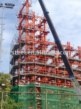 Singapore HWA Chong School of 12 floor High-Rise Steel Structure