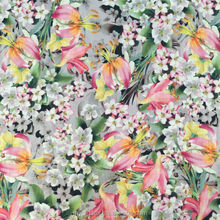 100% cotton fabric prints small flower print fabric for apperal