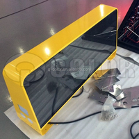Waterproof full color scrolling LED car sign 6mm pixel pitch from Shenzhen Q-color