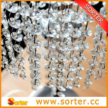 Incredible crystal beaded curtain for home & meeting room & hotel decoration