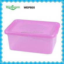 Clean Plastic Container Box