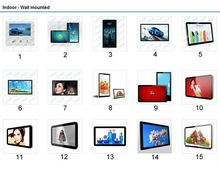 New products 2015 3d blue-ray android media advertising player