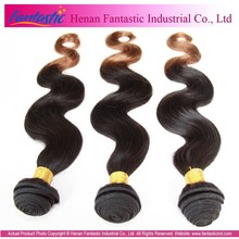 soft and smooth wet and wavy remy human two tone marley braid hair