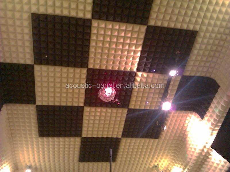 Cinza painel de espuma ac stica pir mide material de - Aislantes acusticos caseros ...