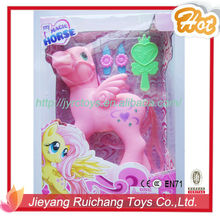 Hot Sale Lovely Baby Horse Toys ZH1305C(with IC music and light)